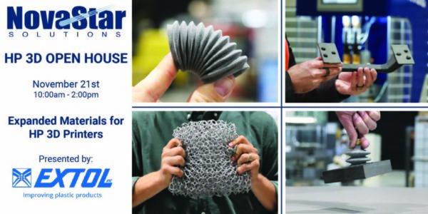 Presentation on Expanded Materials for HP3D during November 21st Open House