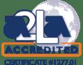 A2LA accredited symbol 1277.01