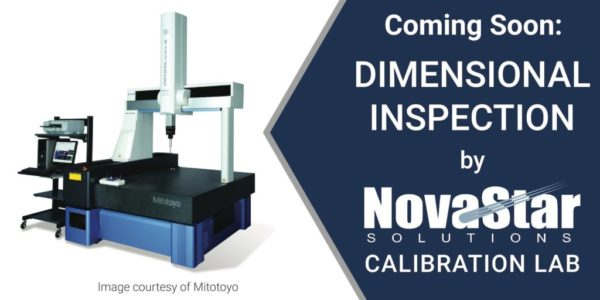 Novastar Solutions Calibration Lab Expanding Capabilities | Dimensional Inspection