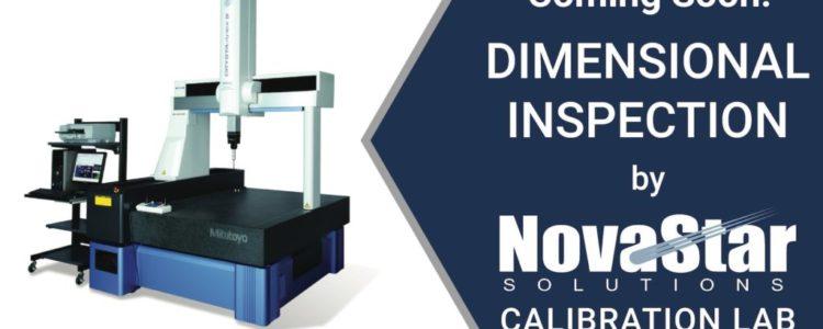 Novastar Solutions Calibration Lab Expanding Capabilities | Dimensional Inspection
