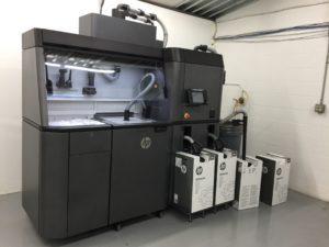 HP 3D Jet Fusion Printing Demo Center