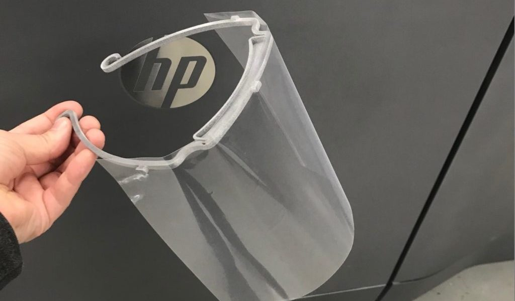 HP 3D Printers utilized to help in the fight against COVID-19 in Michigan