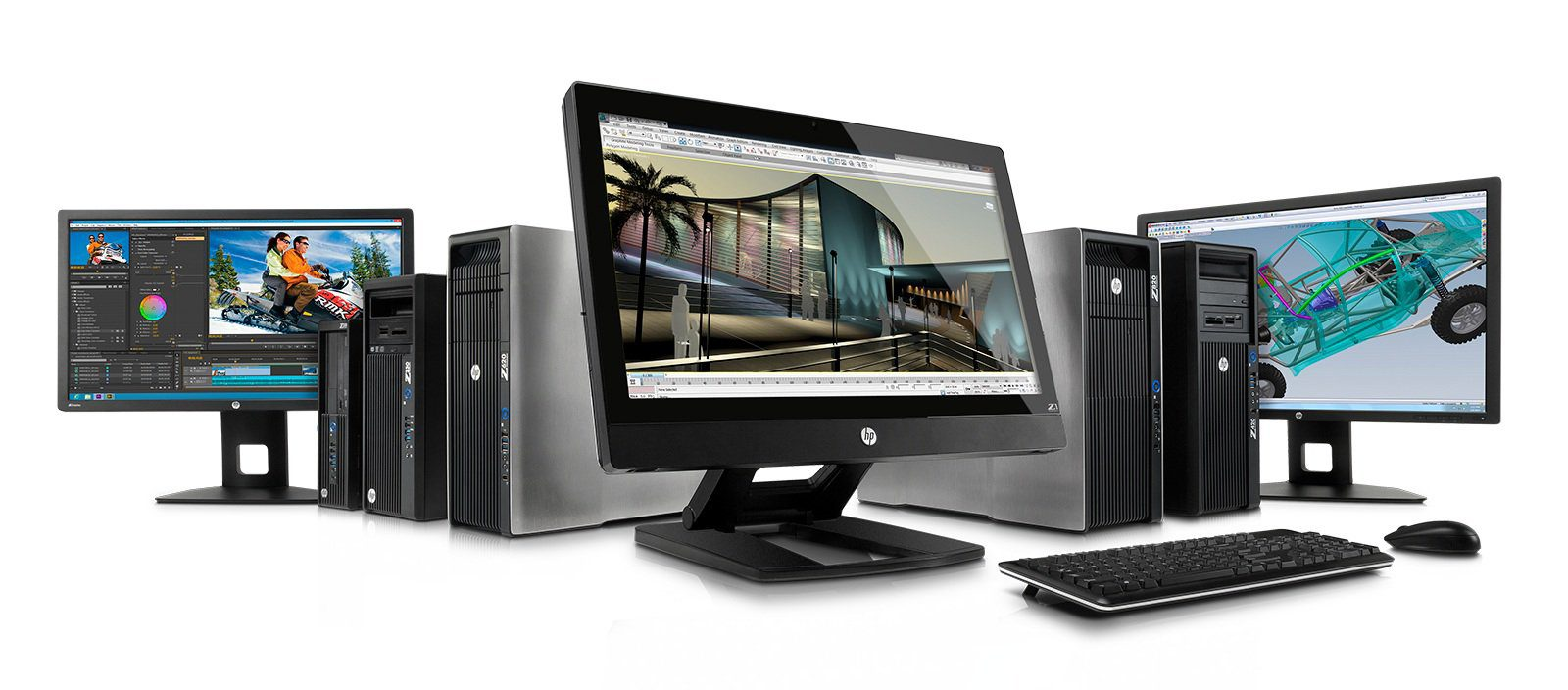 Z Series Workstation Family with Z27i IPS Display, Z30i IPS Display