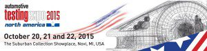 Automotive Testing Expo 2015