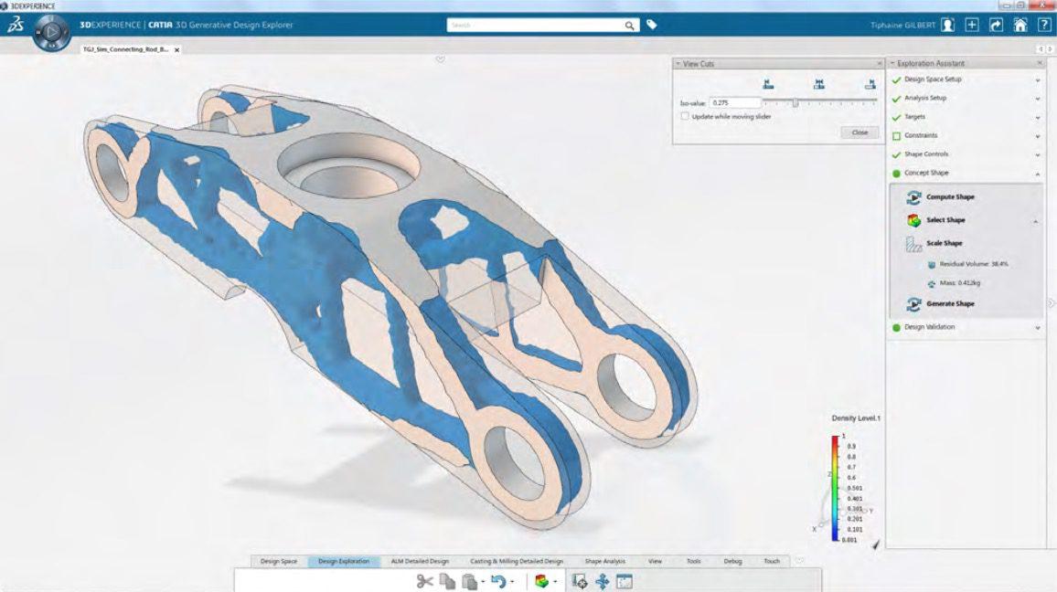 Dassault Systemes CATIA Generative Designer