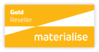 gold reseller badge for materialise