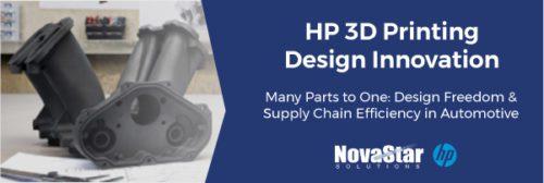 HP 3D Printing Design Innovation