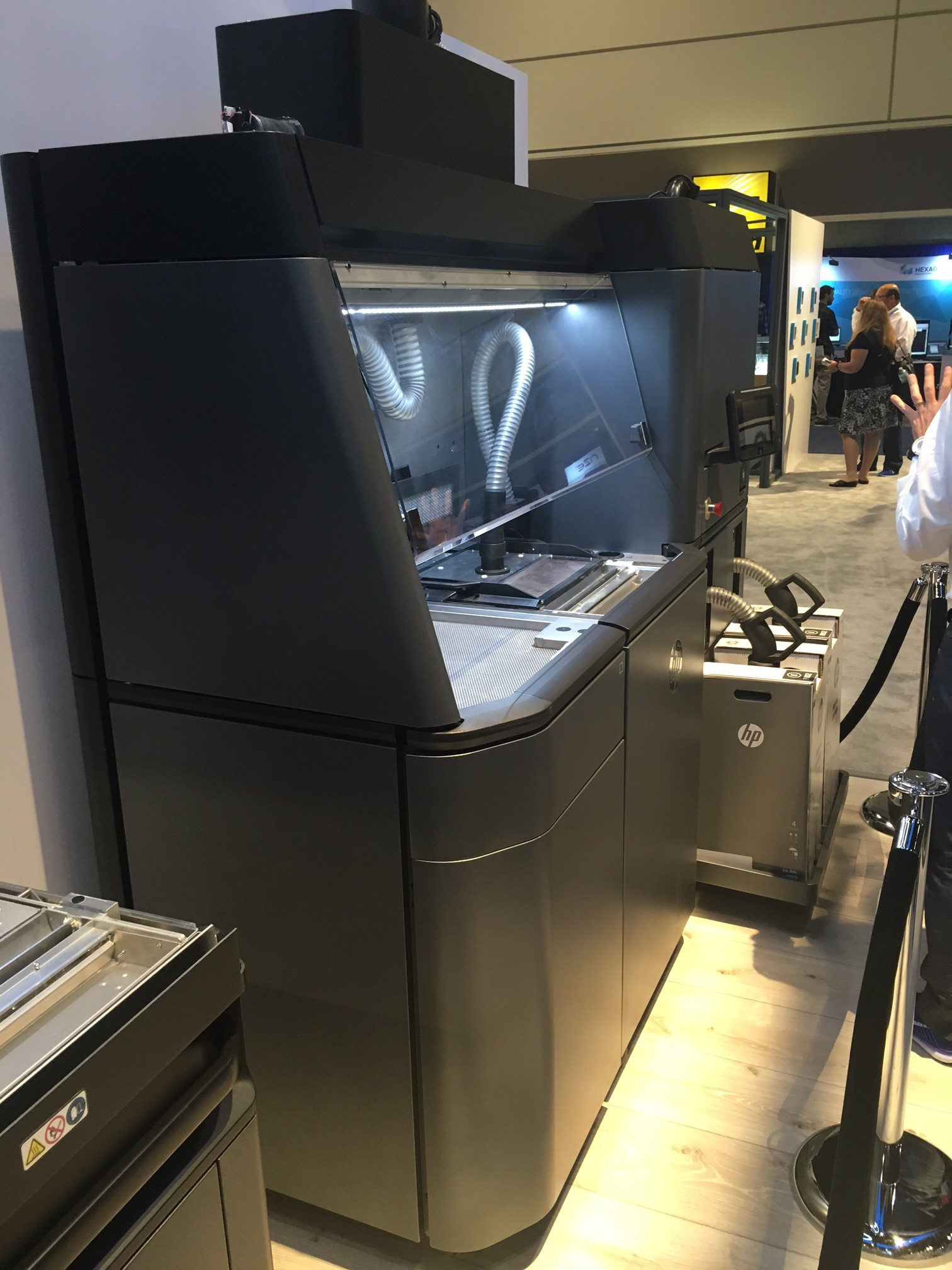 HP Jet Fusion 3D Printer featured at RAPID 2016