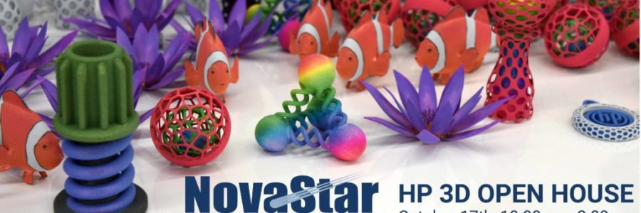 Join the Novastar team on October 17th for an interactive 3D Printing Open House