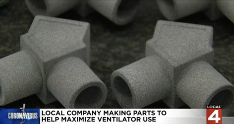 3D Printed Ventilator parts